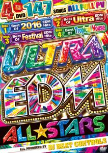 パリピ&EDM好きは1000%アガれちゃう!【洋楽 MixDVD・洋楽 DVD】Ultra EDM All☆Stars / DJ Beat Controls【M便 6/12】