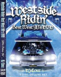 ウエスト最高峰ミックスCDがDVDでカムバック!【DVD】Westside Ridin' Best West 90's DVD -3Disc Deluxe Set- / DJ Couz【M便 6/12】
