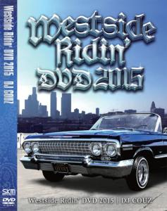 西海岸ヒップホップMV完全収録!【DVD・MIX DVD】Westside Ridin' DVD 2015 / DJ Couz【M便 6/12】