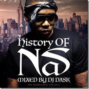 Nasの歴史を完全網羅した最強ベスト!【洋楽 MixCD・MIX CD】History Of Nas / DJ Dask【M便 2/12】