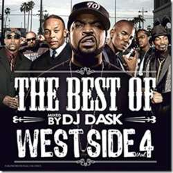 珠玉のウェッサイ名曲集!!【MixCD】The Best Of West Side Vol.4 / DJ Dask【M便 2/12】