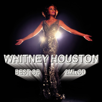 ホイットニー・ヒューストン・ベスト・R&B・2枚組【MixCD】Best Of Whitney Houston -2CD-R- / Tape Worm Project【M便 2/12】