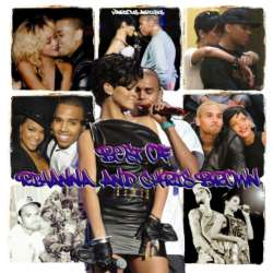 噂の二人!リアーナ&クリス・ブラウンのベストMix!R&B・【MixCD】Best Of Rihanna & Chris Brown -CD-R- / Tape Worm Project【M便 1/12】