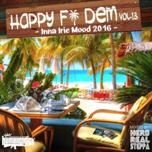 この時期にピッタリのCulture&LoversMix【洋楽 MixCD・MIX CD】Happy Fi Dem Vol.13 -Inna Irie Mood 2016- / Hero Realsteppa【M便 1/12】