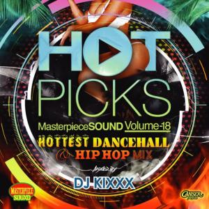 HOTなダンスホールとHIP HOPを詰め込んだMix!【洋楽 MixCD・MIX CD】Hot Picks Vol.18 / DJ Kixxx【M便 1/12】