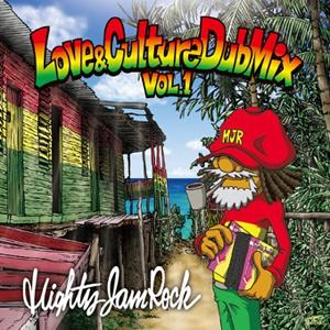 心地よいワンドロップ曲を優しく軽快に!【洋楽 MixCD・MIX CD】Sound Bacteria -Love & Culture Dub Mix- / Mighty Jam Rock【M便 2/12】