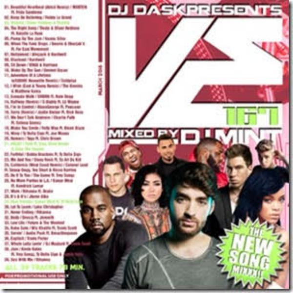毎月のお楽しみ!【洋楽 MixCD・MIX CD】DJ Dask Presents VE167 / DJ Mint【M便 2/12】