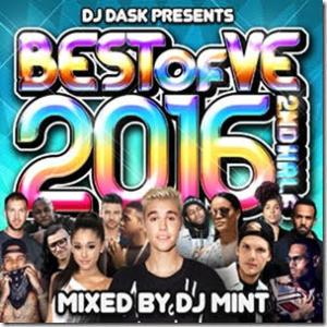 大人気新譜Mix「VE」から2016年後半のベスト版が登場!【洋楽CD・MixCD】DJ Dask Presents Best Of VE 2016 2nd Half / DJ Mint【M便 2/12】