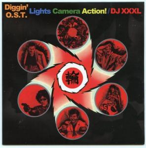 世界に誇る「邦画オリジナルサウンドトラック」Mix!【MixCD・MIX CD】Diggin' O.S.T Lights Camera Action! / DJ XXXL【M便 1/12】