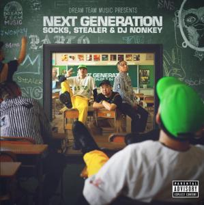 Socks、Stealerが参加した楽曲をDJ NonkeyがMix!【洋楽 MixCD・MIX CD】Dream Team Music Presents -Next Generation- / Socks, Stealer & DJ Nonkey【M便 2/12】