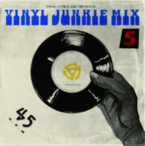 バイブル的な1枚になること間違いなし!【MixCD・MIX CD】Vinyl Junkie Mix Vol.5 / Vinyl Junkie Kru【M便 1/12】