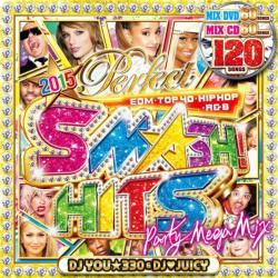 激アゲメガMIX!2枚組(DVD+CD)登場!!【MixCD】【DVD】2015 Perfect Smash! Hits / DJ You★330 & DJ Juicy【M便 6/12】