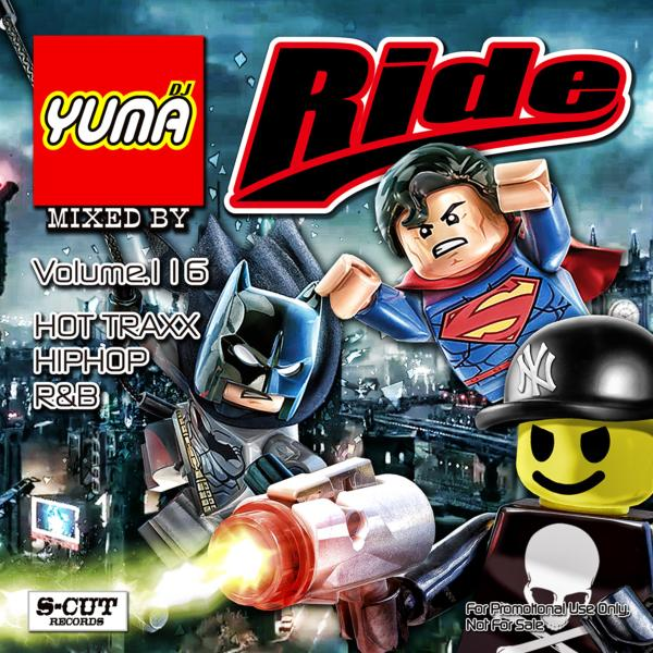 最新のHip Hop, R&Bをビッチリ収録!【洋楽 MixCD・MIX CD】Ride Vol.116 / DJ Yuma【M便 2/12】