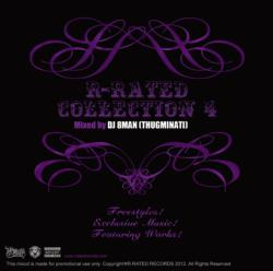 ヒップホップ【MixCD】R-Rated Collection 4 / DJ 8MAN (Thugminati)【M便 2/12】