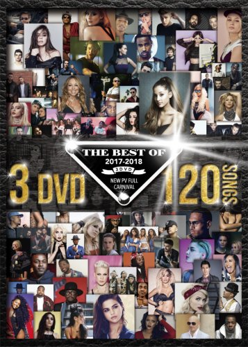 史上最強2017ベストDVD3枚組!【洋楽DVD・MixDVD】The Best Of 2017-2018 3DVD -New PV Full Carnival- / V.A【M便 6/12】