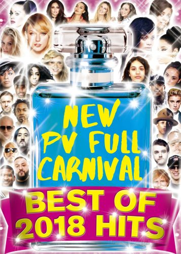 2018年も流行る最新PVがズラリ!【洋楽DVD・MixDVD】New PV Full Carnival -Best Of 2018 Hits- / V.A【M便 6/12】