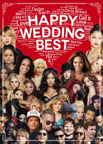 ウェディング系ラブソングMV集!【洋楽DVD・MixDVD】Happy Wedding Best / V.A【M便 6/12】