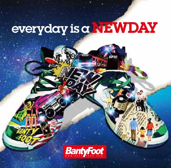 「Banty Foot」待望のアルバム。【CD】Every Day is a New Day / Banty Foot【M便 2/12】