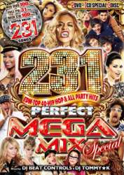 超絶メガボリューム!!!【DVD】【MixCD】Perfect Mega Mix Special -231 Crazy Party Hits- / DJ Beat Controls & DJ Tommy★K【M便 6/12】