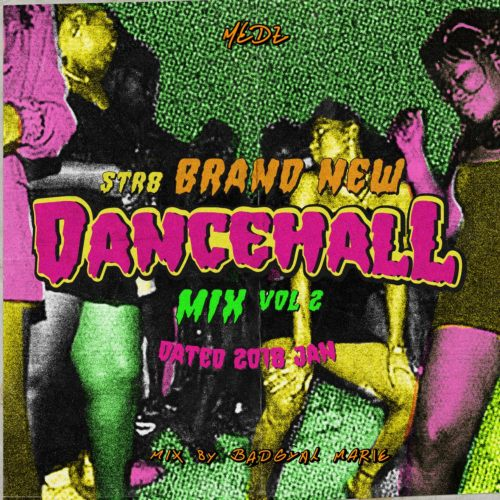 本場志向のダンスホールフリークも納得の一枚。【CD・MixCD】STR8 Brand New Dancehall Mix Vol.2 -Dated JAN 2018- / Bad Gyal Marie from Medz【M便 1/12】