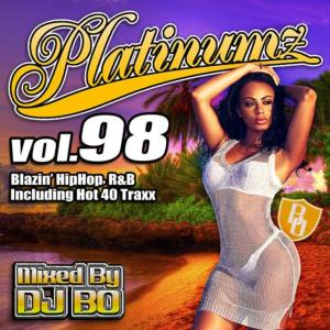今月も全曲ハズレ無し!【洋楽 MixCD・MIX CD】Platinumz Vol.98 / DJ Bo【M便 2/12】