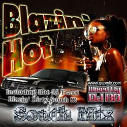 Blazin' Hot -South Mix Vol.1- / DJ Bo【M便 1/12】
