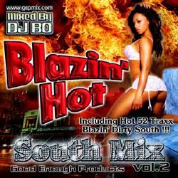 Blazin' Hot -South Mix Vol.2- / DJ Bo【M便 1/12】