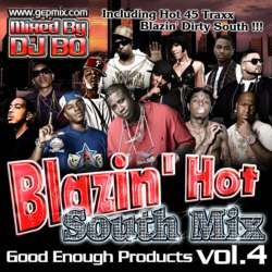 Blazin' Hot -South Mix Vol.4- / DJ Bo【M便 1/12】