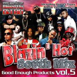 Blazin' Hot -South Mix Vol.5- / DJ Bo【M便 1/12】