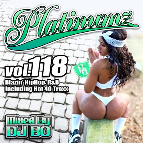 最新HipHopとR&B!【洋楽CD・MixCD】Platinumz Vol.118 / DJ Bo【M便 1/12】