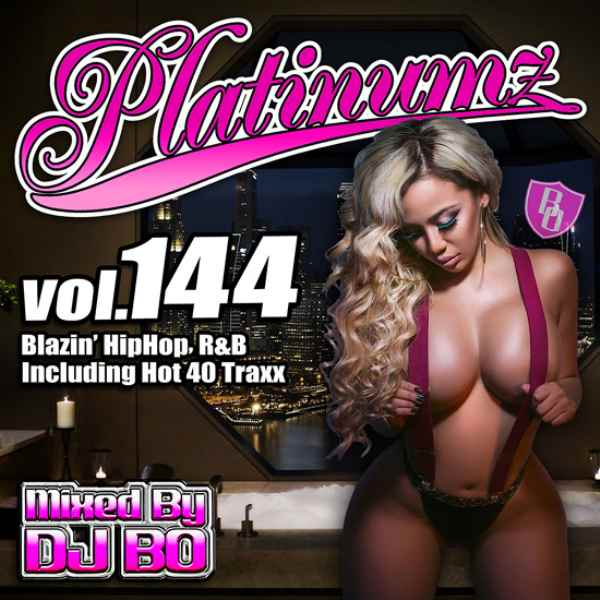最新HipHopとR&B! 洋楽CD MixCD Platinumz Vol.144 / DJ Bo【M便 1/12】
