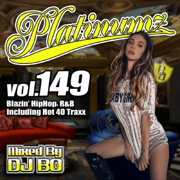 最新HipHopとR&B! 洋楽CD MixCD Platinumz Vol.149 / DJ Bo【M便 1/12】