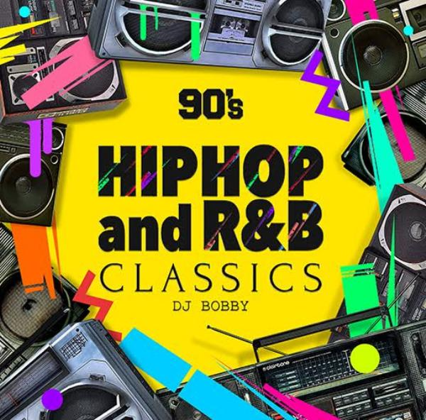 90's世代ど真ん中!【洋楽 MixCD・MIX CD】90's HipHop And R&B Classics / DJ Bobby【M便 2/12】
