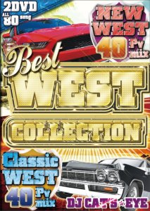 究極のベスト・オブ・ウェッサイDVD!!【洋楽DVD・MixDVD】Best West Collection / DJ Cat's Eye 【M便 6/12】