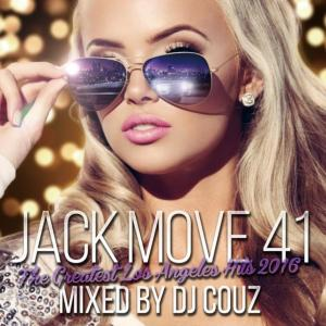LAを中心にUS全土で大ヒット中の曲だけ収録!【洋楽CD・MixCD】Jack Move 41 -The Greatest Los Angeles Hits 2016- / DJ Couz【M便 2/12】
