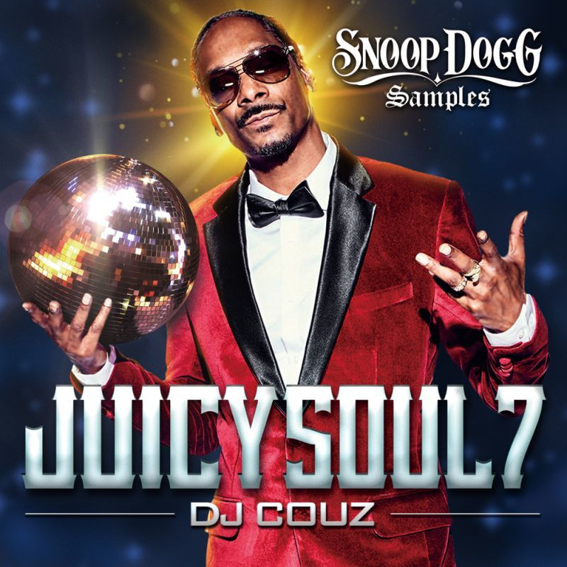 Snoopネタ曲ソウル・ファンクミックス!【洋楽CD・MixCD】Juicy Soul Vol.7 -Snoop Dogg Samples- / DJ Couz【M便 2/12】