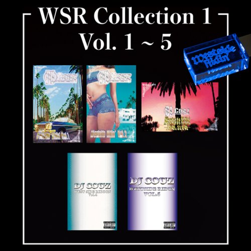 ウエストコーストWSR Collection 1 / DJ Couz (Westside Ridin' Vol.1-5) 【WUSB-1501】