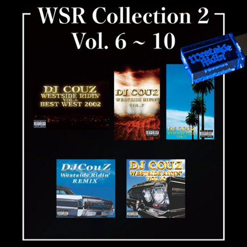 ウエストコーストWSR Collection 2 / DJ Couz (Westside Ridin' Vol.6-10) 【WUSB-1502】