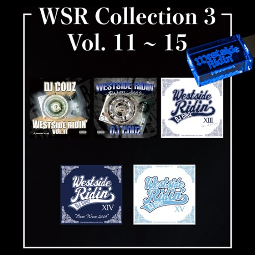 ウエストコーストWSR Collection 3 / DJ Couz (Westside Ridin' Vol.11-15) 【WUSB-1503】