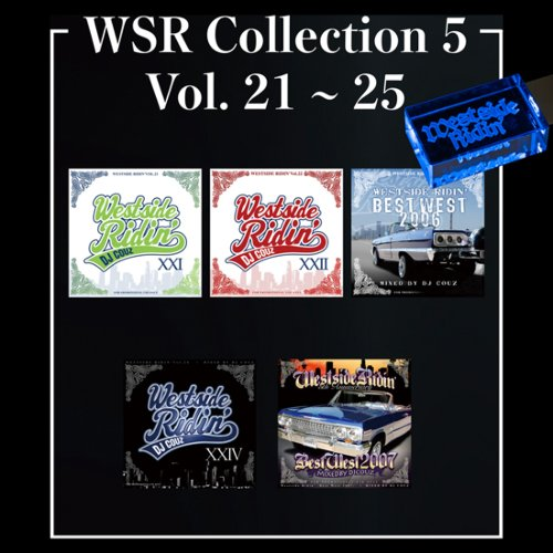 ウエストコーストWSR Collection 5 / DJ Couz (Westside Ridin' Vol.21-25) 【WUSB-1505】