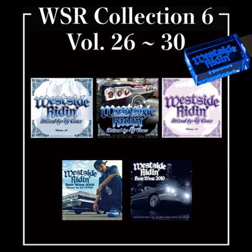 ウエストコーストWSR Collection 6 / DJ Couz (Westside Ridin' Vol.26-30) 【WUSB-1506】
