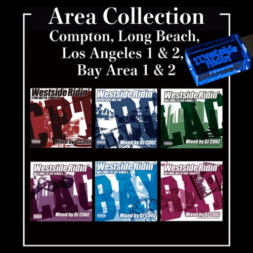 ウエストコーストArea Collection / DJ Couz (Compton, Long Beach, Los Angeles 1&2, Bay Area 1&2) 【WUSB-1509】