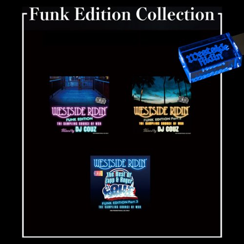 ウエストコーストFunk Edition Collection / DJ Couz (Funk Edition Vol.1-3) 【WUSB-1510】