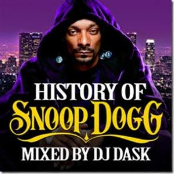 生きる伝説『Snoop Dogg』のベスト版!!【洋楽 MixCD・MIX CD】History Of Snoop Dogg / DJ Dask【M便 2/12】