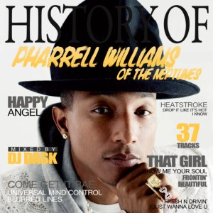 カリスマ音楽プロデューサーのベスト版!【洋楽CD・MixCD】History Of Pharrell Williams of The Neptunes / DJ Dask【M便 2/12】
