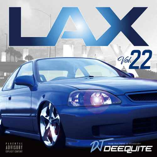 とにかくFresh&ハイセンス!【洋楽CD・MixCD】Lax Vol.22 / DJ Deequite【M便 2/12】