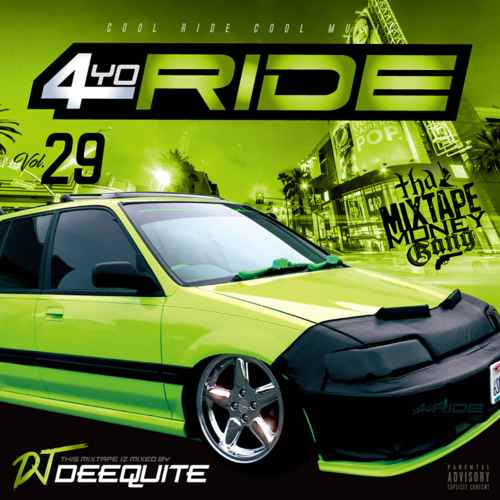 SS級Gスタメロウ!【洋楽CD・MixCD】4Yo Ride Vol.29 / DJ Deequite【M便 2/12】
