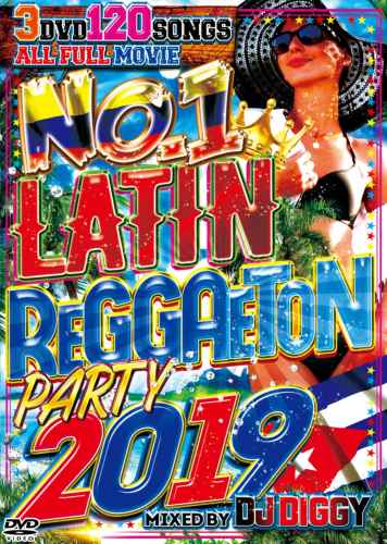 2019年夏最強のラテン&レゲトン!!!【洋楽DVD・MixDVD】No.1 Latin Reggaeton Party 2019 / I-Square【M便 6/12】