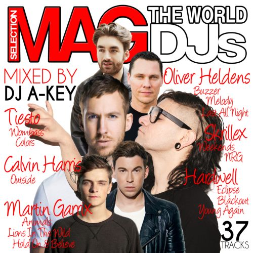 誰もがアガれる圧巻のMixxx!!!【洋楽CD・MixCD】Mag Selection -The World DJ's- / DJ A-Key【M便 2/12】