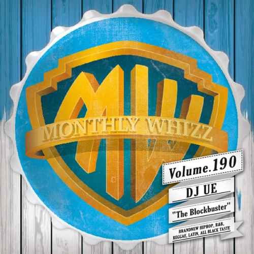 HiphopからSoulfulかつSweetな歌モノまで!【洋楽CD・MixCD】Whizz Vol.190 / DJ Ue【M便 2/12】
